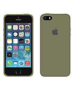 Чехол Soft Touch для Apple iPhone 5/5S Pebble