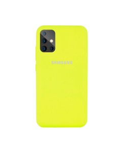 Чехол Original Soft Touch Case for Samsung A31-2020/A315 Yellow