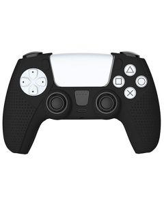 Силиконовый чехол для джойстика Sony PlayStation PS5 Type 2 Dobe Black