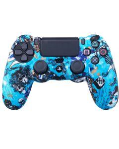 Силиконовый чехол для джойстика Sony PlayStation PS4 Type 1 Witch тех.пак
