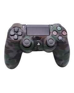Силиконовый чехол для джойстика Sony PlayStation PS4 Type 1 Camouflage Black Clear тех.пак