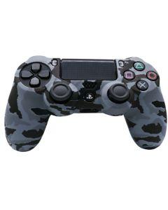 Силиконовый чехол для джойстика Sony PlayStation PS4 Type 1 Camouflage Grey Clear тех.пак