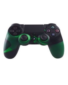 Силиконовый чехол для джойстика Sony PlayStation PS4 Type 2 Camouflage Black/Green тех.пак