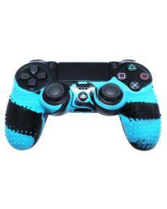 Силиконовый чехол для джойстика Sony PlayStation PS4 Type 4 Blue Camo тех.пак