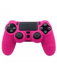 Силиконовый чехол для джойстика Sony PlayStation PS4 Type 5 Pink тех.пак