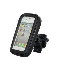 Велодержатель для телефона пылевлагозащищенный Black