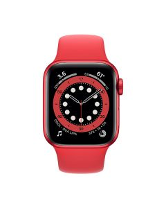 Apple Watch Series 6 GPS 40mm Red Aluminium Case with Red Sport Band (M00A3)