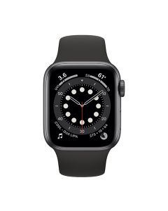 Apple Watch Series 6 GPS 44mm Space Gray Aluminum Case with Black (M00H3)  OPEN BOX