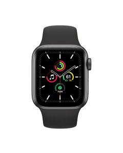 Apple Watch Series 3 GPS 38mm Space Grey Aluminium Case with Black Sport Band (MTF02)