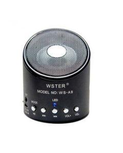 Портативная Bluetooth колонка WS-A9 Black