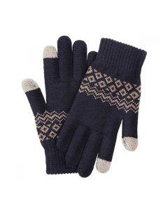 Перчатки Xiaomi Touch Screen Gloves Finger Winter Blue
