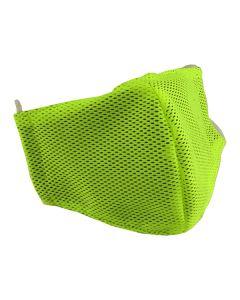 Многоразовая защитная маска для лица Sport желтая (размер S)