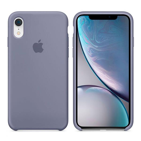 Чехол Soft Touch для Apple iPhone XR Levender Gray (Original)