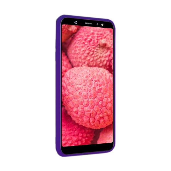 Чехол Original Soft Touch Case for Samsung A6 Plus 2018/A605 Violet